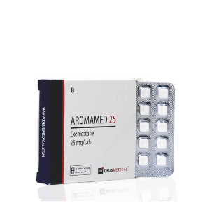 Aromamed 25 (Exémestane) 50 comprimés [25MG/CO] Deusmedical
