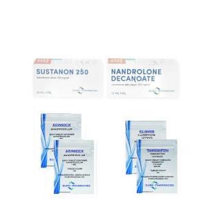 Pack Prise de Masse- Classique – Sustanon / Deca (Euro Pharmacies)