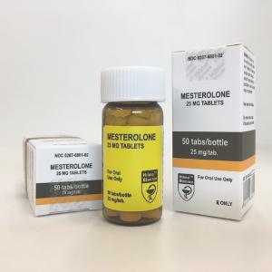 MESTEROLONE (PROVIRON) 50 COMPRIMÉS [25MG/COMP] HILMA BIOCARE