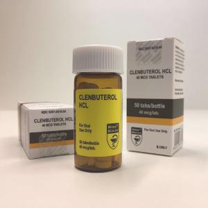 CLENBUTÉROL HCL  50 COMPRIMÉS [40 MCG/COMP] HILMA BIOCARE