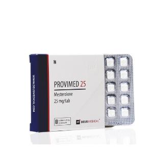 Provimed 25 (Mesterolone) 50 CO [25MG/CO] Deusmedical