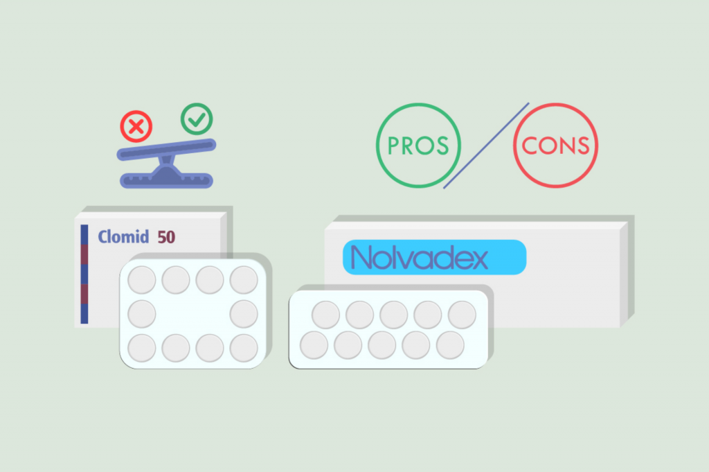 nolvadex clomid difference